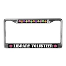 Library Volunteer License Plate Frame