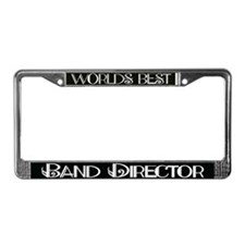 World's Best Band Director License Plate Frame