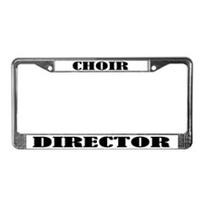 Choir Director License Plate Frame