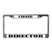 Choir Director License Plate Frame