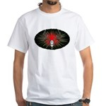 Whitetail buck White T-Shirt