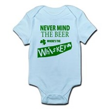 St Patricks Wheres the Whisky Infant Bodysuit