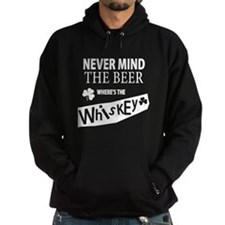 St Patricks Wheres the Whisky Hoody