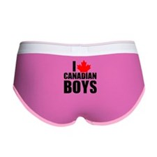I Heart Canadian Boys Women's Boy Brief