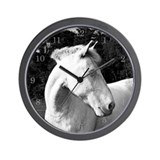 whitehorse03 Wall Clock