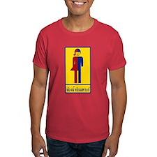 Ladyboy / Tomboy Toilet Thai Sign T-Shirt