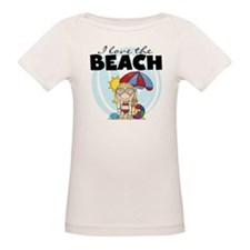 Blond Girl Love the Beach Tee