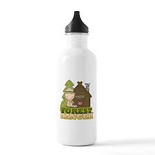 Male Forest Ranger Water Bottle