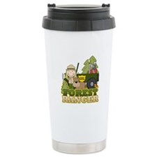 Female Forest Ranger Ceramic Travel Mug