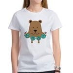 Cartoon Bear Women's T-Shirt