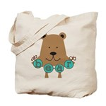 Cartoon Bear Tote Bag