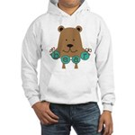Cartoon Bear Hooded Sweatshirt