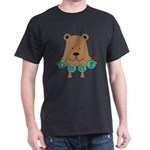 Cartoon Bear Dark T-Shirt