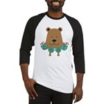 Cartoon Bear Baseball Jersey
