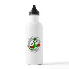 Skateboard Gecko Water Bottle