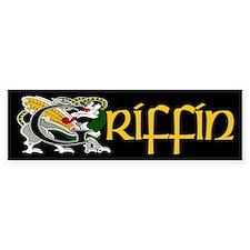 Griffin Celtic Dragon Bumper Bumper Sticker