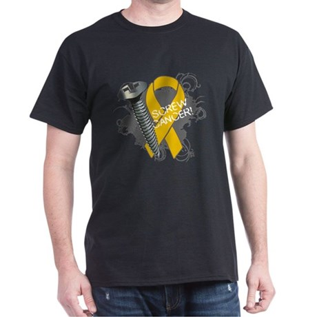 Screw Appendix Cancer Dark T-Shirt