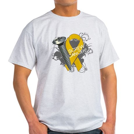 Screw Appendix Cancer Light T-Shirt