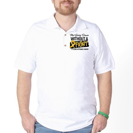 Appendix Cancer Fight Golf Shirt