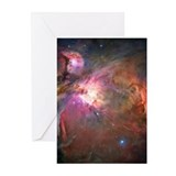 Orion Nebula Hubble Image Greeting Cards (Package