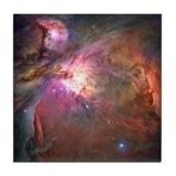 Orion Nebula Hubble Image Tile Coaster
