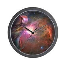 Orion Nebula Hubble Image Wall Clock