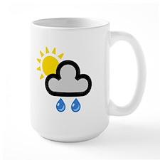 Rain Showers Symbol Mug