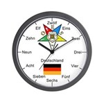 OES Germany Wall Clock
