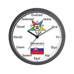 OES Slovakia Wall Clock
