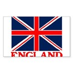 England Sticker (Rectangle 10 pk)