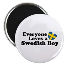 Everyone Loves a Swedish Boy Magnet