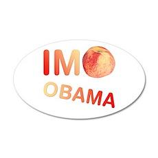 ImPeach Obama 22x14 Oval Wall Peel