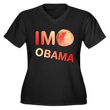 ImPeach Obama Women's Plus Size V-Neck Dark T-Shir