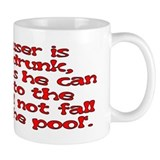 Red Scouser Never Drunk Mug