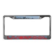 Scenic Liverpool LFC Red License Plate Frame