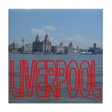 Scenic Liverpool LFC Red Tile Coaster