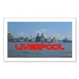 Scenic Liverpool LFC Red Sticker (Rect.)