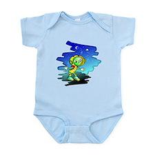Little Space Alien Infant Bodysuit
