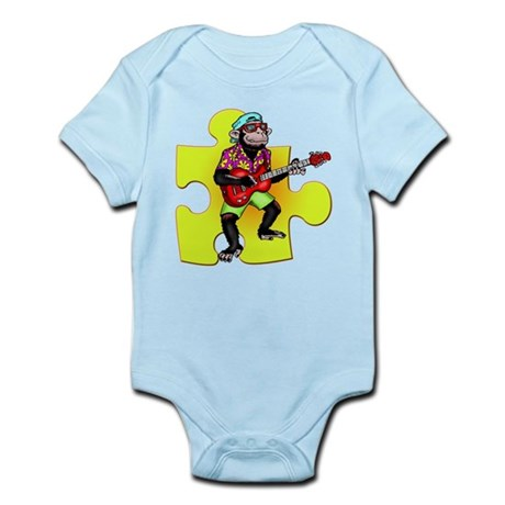 Rock and Roll Monkey Infant Bodysuit