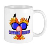 Funny Clown Face Mug
