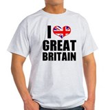 I Heart Great Britain T-Shirt