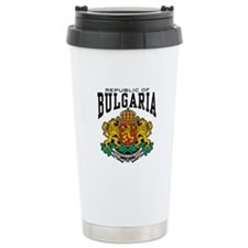 Republic Of Bulgaria Ceramic Travel Mug