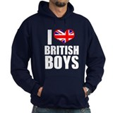 I Heart British Boys Hoody