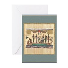 Egyptian Boat -Greeting Cards (Pk of 10)