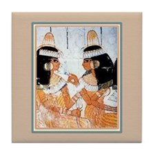 Egyptian Sisters -Tile Coaster