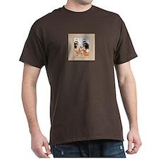 Egyptian Sisters -Black T-Shirt