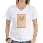 Brittany Women's V-Neck T-Shirt