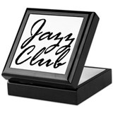 Jazz Club: T-shirts &amp; More! Keepsake Box