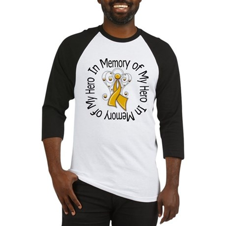 In Memory Appendix Cancer Baseball Jersey