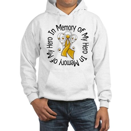 In Memory Appendix Cancer Hooded Sweatshirt